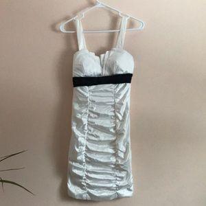 Ruby Rox Satin Bodycon Mini Dress Sleeveless Sz 5